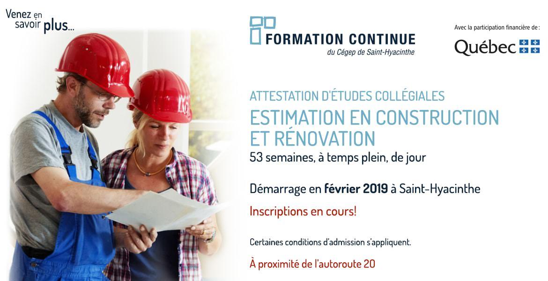 AEC Estimation en construction et rénovation